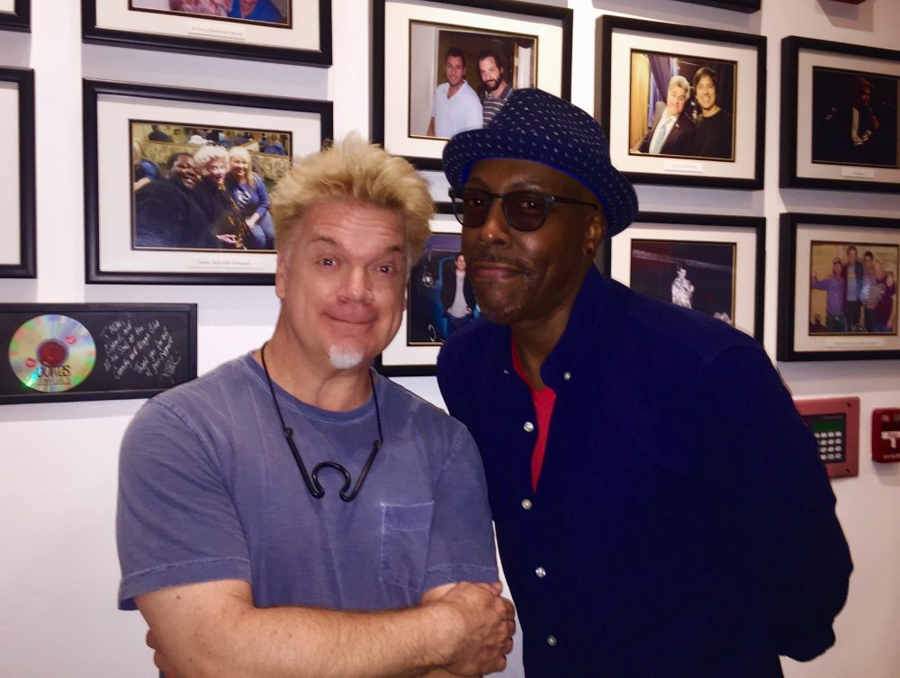 Chipper & Arsenio Hall Have Something In Common!  :)