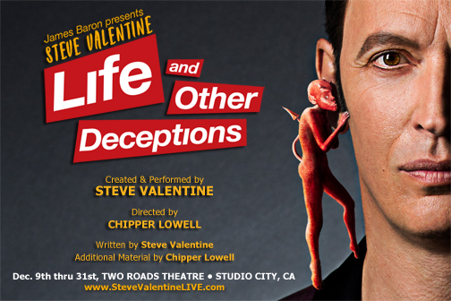 Chipper directs new solo show from Steve Valentine!…