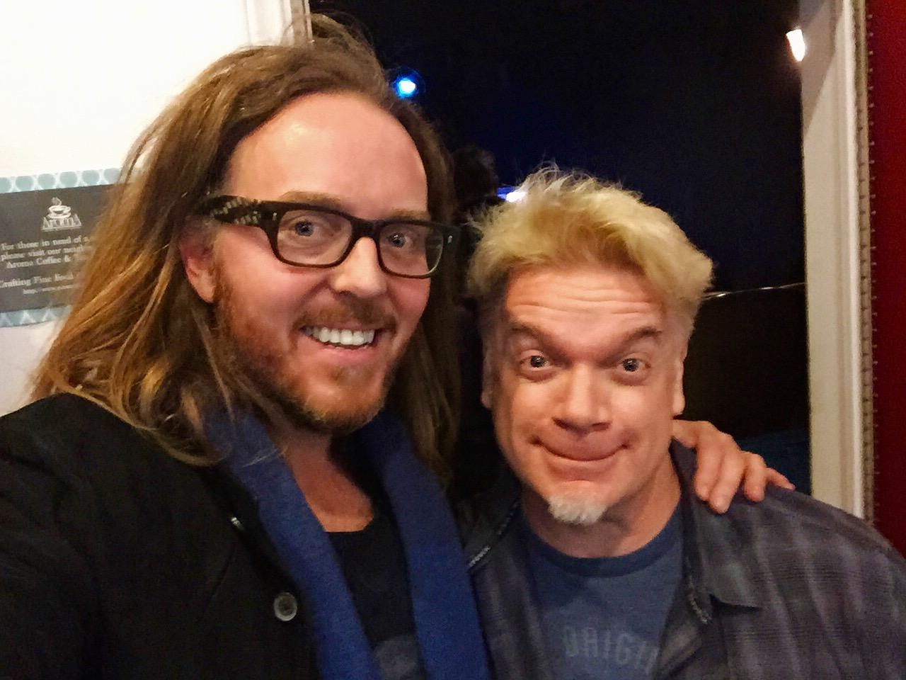 Chipper meeeeeeets Tim Minchin!!  : )