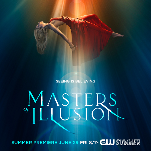 """6th Season for """"Masters Of Illusion"""" on CW!"""